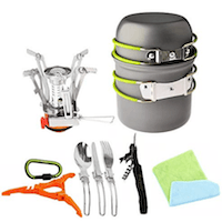 Bisgear-12-17Pcs-Camping-Cookware-Stove-Carabiner-Canister-Stand-Tripod-Folding-Spork-Set-Outdoor-Camping-Hiking
