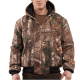 Carhartt Men's Quilted Flannel Lined Camo Jacket