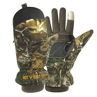 Hot Shot Men's Predator Pop-top Mittens