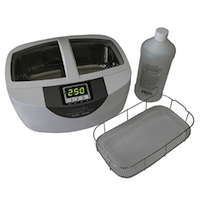 Isonic Ultrasonic Stainless-Steel Brass And Gun Cleaner